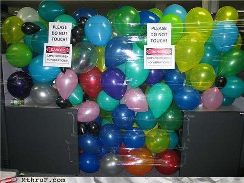 Balloons,classic,prank,while you were out