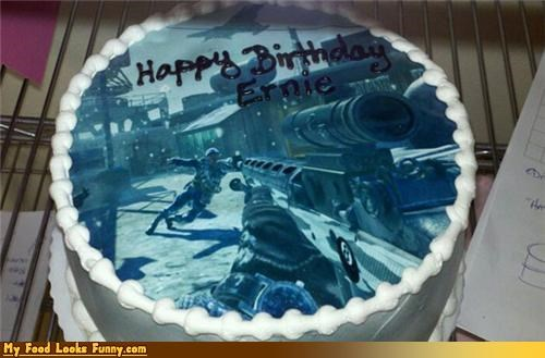 Funny Food Photos - Call of Duty Black Ops Cake