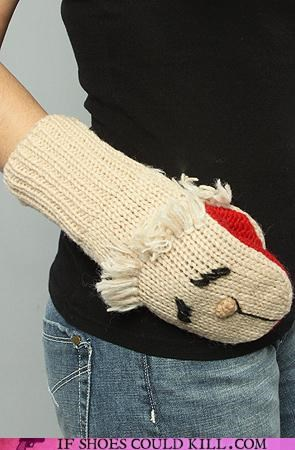 cool accessories,lamb,mittens,winter