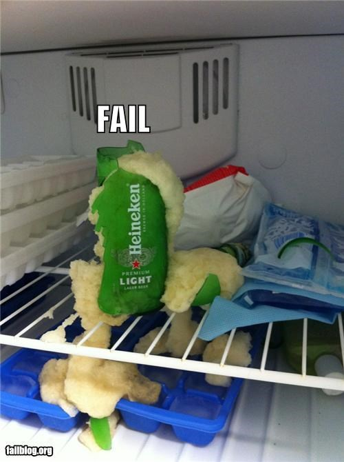 Cold Beer FAIL
