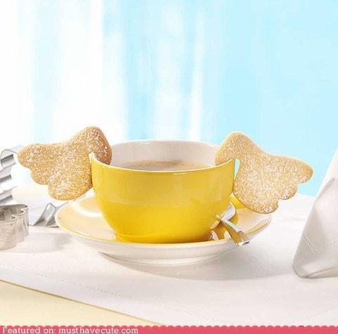angel,cookies,epicute,tea,wings