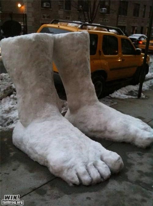 2 Feet of Snow WIN
