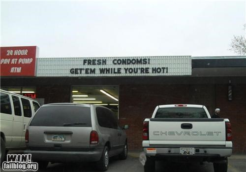 Fresh Condoms WIN