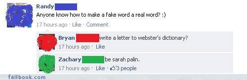 everyone is laughing,lol,oh snap,Sarah Palin,win,witty comebacks