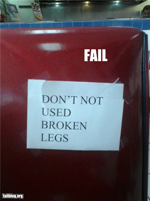 Warning Fail