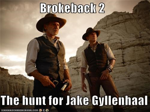 Brokeback 2  The hunt for Jake Gyllenhaal