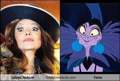 Latoya Jackson Totally Looks Like Yzma