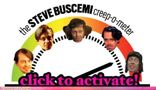 The Steve Buscemi Creep-o-Meter