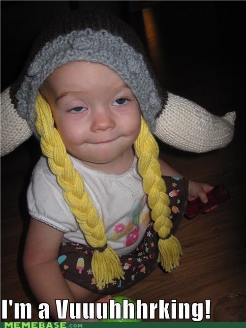 Babies,derp,hat,my first derp,viking