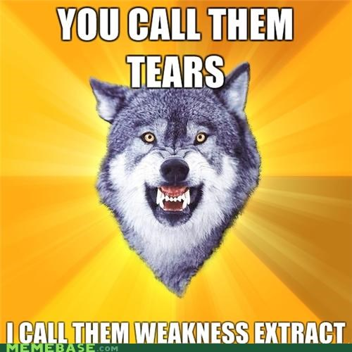 Courage Wolf: whimpers gonna whimp