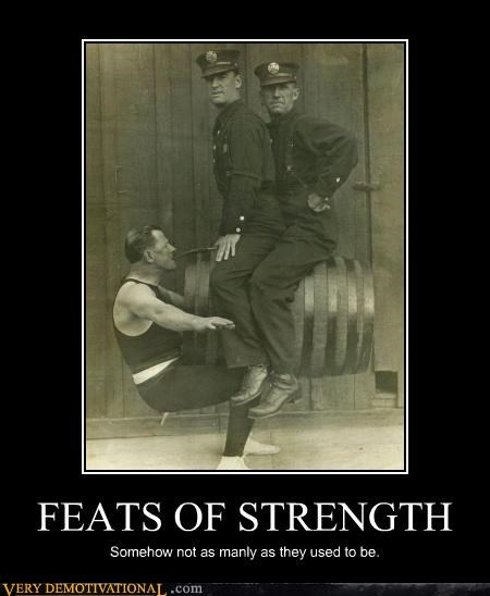 FEATS OF STRENGTH