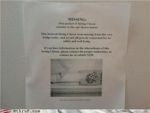 MISSING: String Cheese