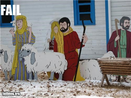 Nativity Fail