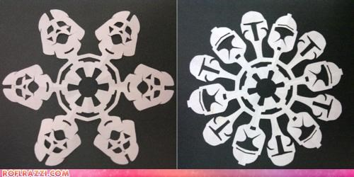Awesome: Star Wars Snowflakes