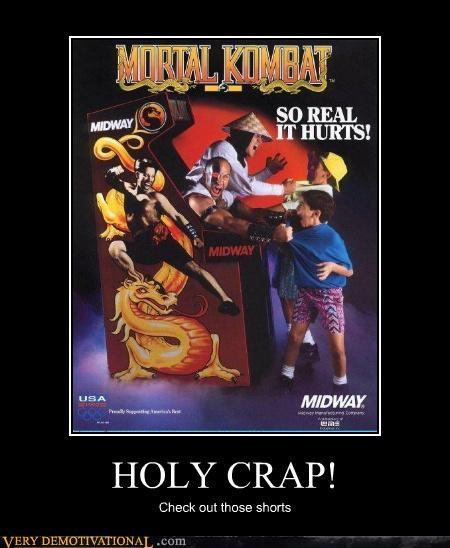 awesome shorts,cool dudes,kano,midway,Mortal Kombat,raiden,Videogames