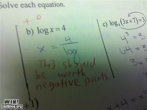 Math FAIL/Teacher WIN