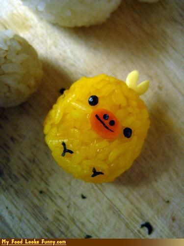 Funny Food Photos - Chick Ball