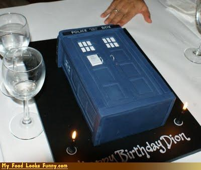 birthday cake,cake,doctor who,police box,Sweet Treats,tardis