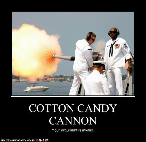 COTTON CANDY CANNON