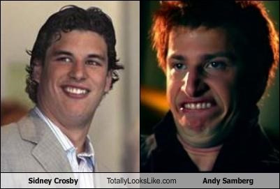Sidney Crosby Totally Looks Like Andy Samberg