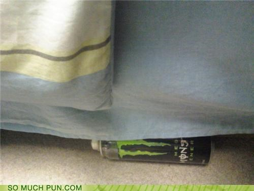 There's a monster under my bed