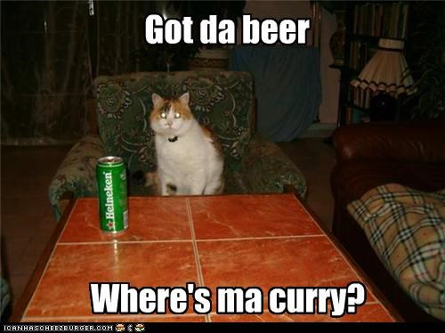Where's ma curry?
