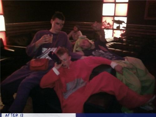 Teletubbies Need to Relax After the Show