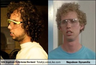 Erik Engstrom from Horse the Band Totally Looks Like Napoleon Dynamite