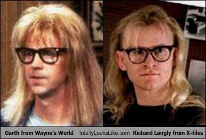 Garth from Wayne's World Totally Looks Like Richard Langly from X-files