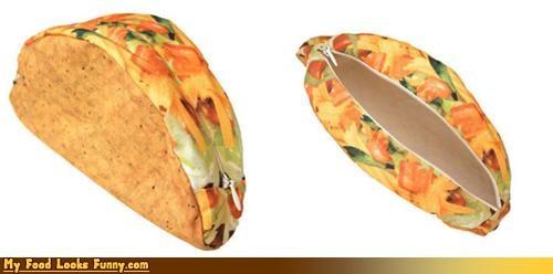 fake,print,taco,wallet,zipper