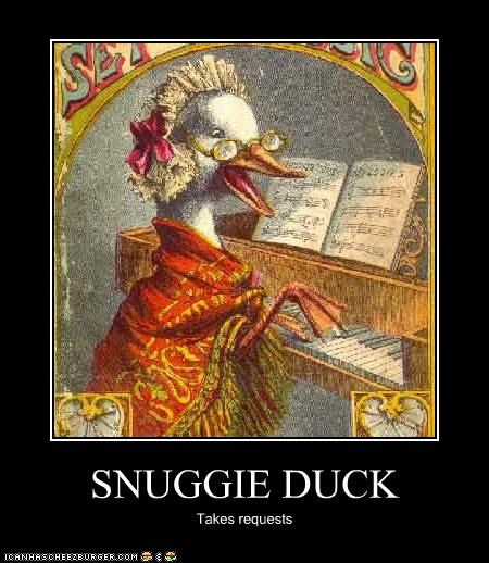 SNUGGIE DUCK