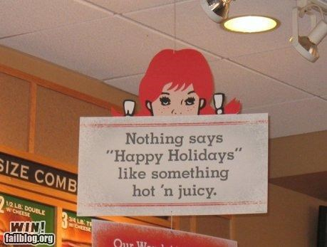Wendy's Slogan WIN