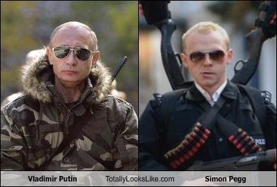 Vladimir Putin Totally Looks Like Simon Pegg