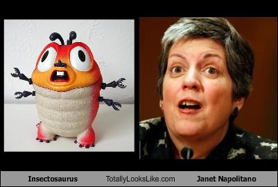 Insectosaurus Totally Looks Like Janet Napolitano