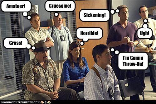 celeb,Dexter,funny,lolz,TV