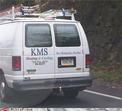 Are You Coming On to Me, Service Van?