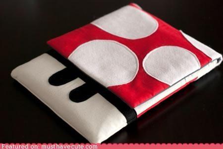 Super Mushroom iPad Case