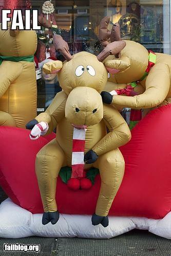 christmas,decorations,failboat,holiday,innuendo,reindeer,Tis the Season
