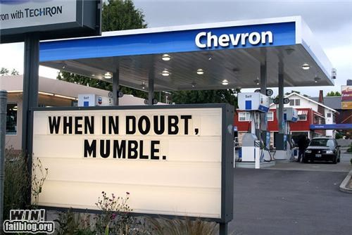 awesome at work,gas station,life lessons,signs