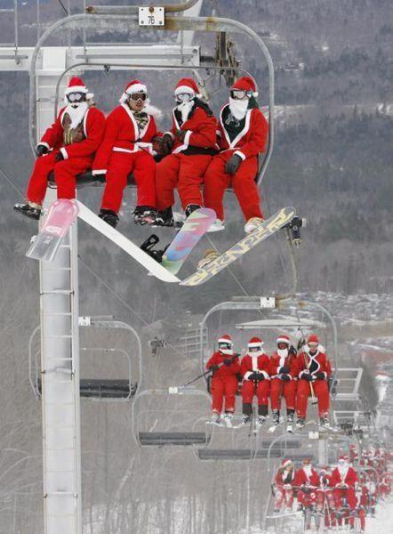 Santa Claus-ome!