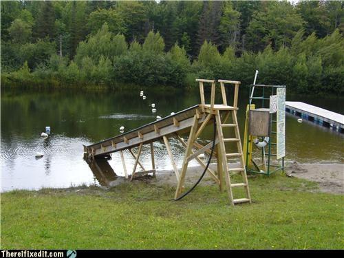 dangerous,DIY,slide