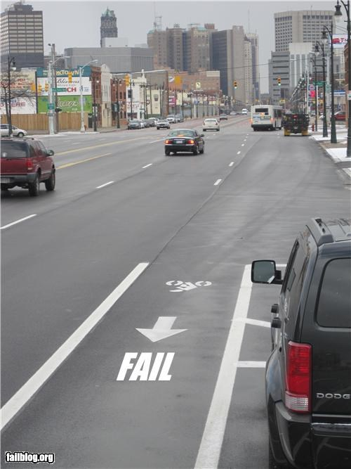 Bike Lanes in Detroit