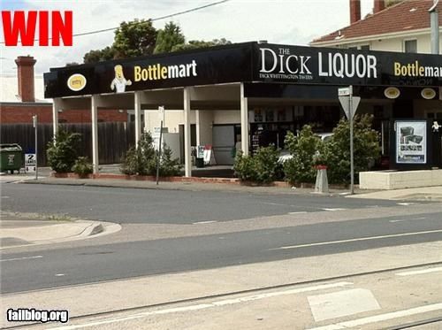 Liquor Store Name WIN