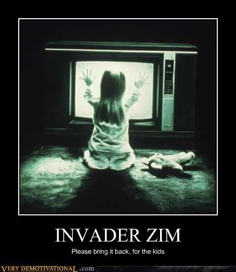 for the kids,Invader Zim,lol,poltergeist,sad but true,TV