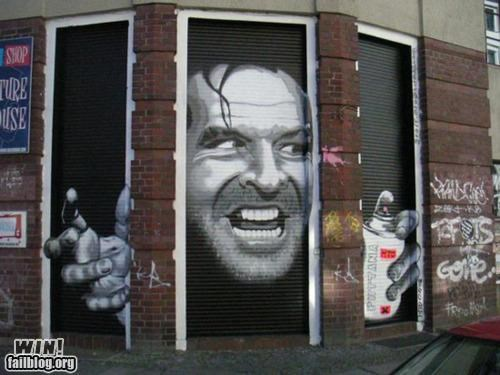 Hacked IRL: Too Much Graffiitti Makes Jack A Dull Boy