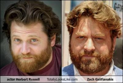 actor Herbert Russell Totally Looks Like Zach Galifianakis
