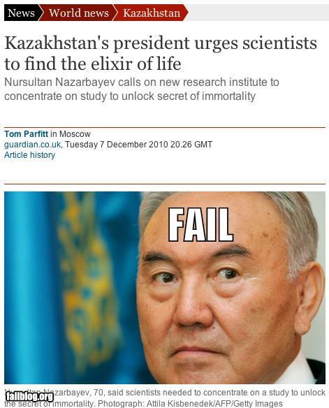 Scientific FAIL