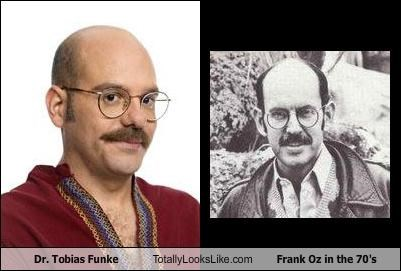 Dr. Tobias Funke Totally Looks Like Frank Oz in the 70's