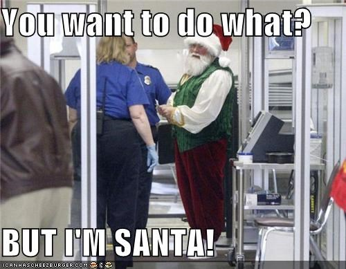 Hands Off Santa's Sack!