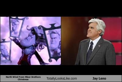 North Wind From Miser Brothers Chirstmas Totally Looks Like Jay Leno